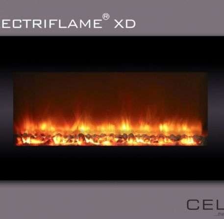 Electriflame XD Black Glass